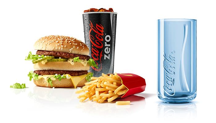 Gratis Coca-Cola Glas zu einem McMenü (ab 04.05.)