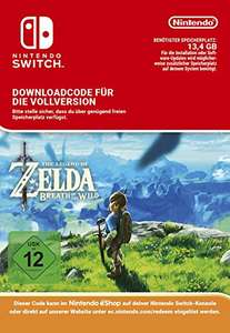 [Amazon.de] Schnell sein!!! The Legend of Zelda: Breath of the Wild [Switch Download Code] für 19,99 EUR