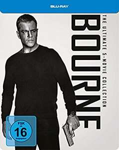 Bourne Box 1-5 [Blu-ray] [Limited Steelbook Edition] -63%