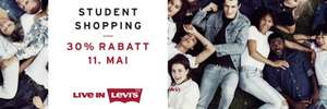[Levi's] -30% Student Shopping Day 11.5.2017