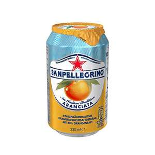 [AMAZON] San Pellegrino 24x Dosen: Limonata, Aranciata , Aranciata Rossa Dosen - 10% günstiger
