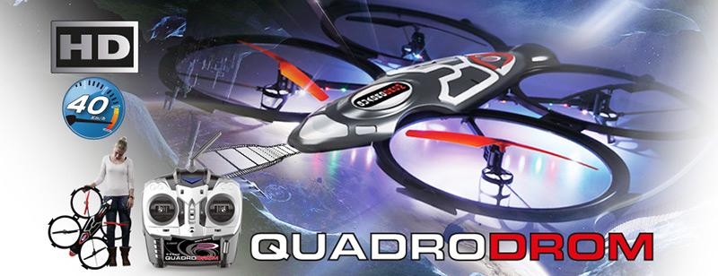 [Ebay.de/MM] Jamara Quadrodrom Quadrocopter mit HD-Kamera für 56€ (statt 190€)