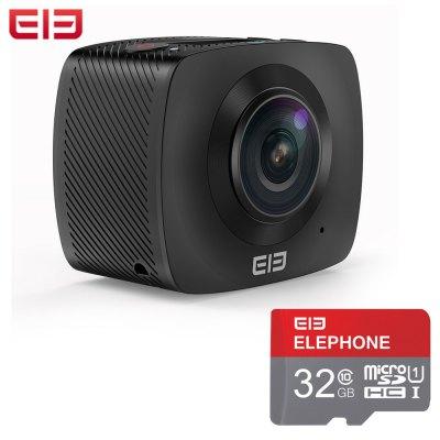 [Gearbest] Elephone Elecam 360 Action Cam + 32GB Speicherkarte für 96,28 € - 37% Ersparnis