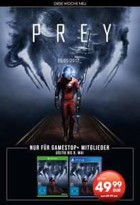 GameStop: Prey (PS4 / Xbox One) für 49,99€