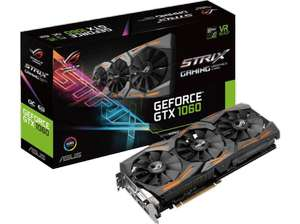 [Saturn.at] ASUS Strix GeForce GTX 1060 O6G Gaming 6GB GDDR5 für 277€