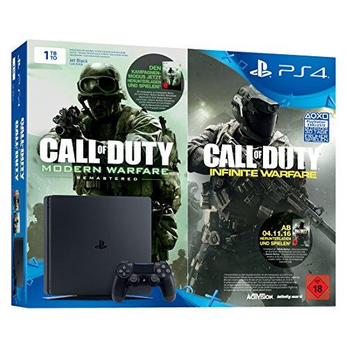 [Amazon.de] PlayStation 4 Slim - Konsole (1TB, schwarz) inkl. Call of Duty: Infinite Warfare Legacy Edition für 229€