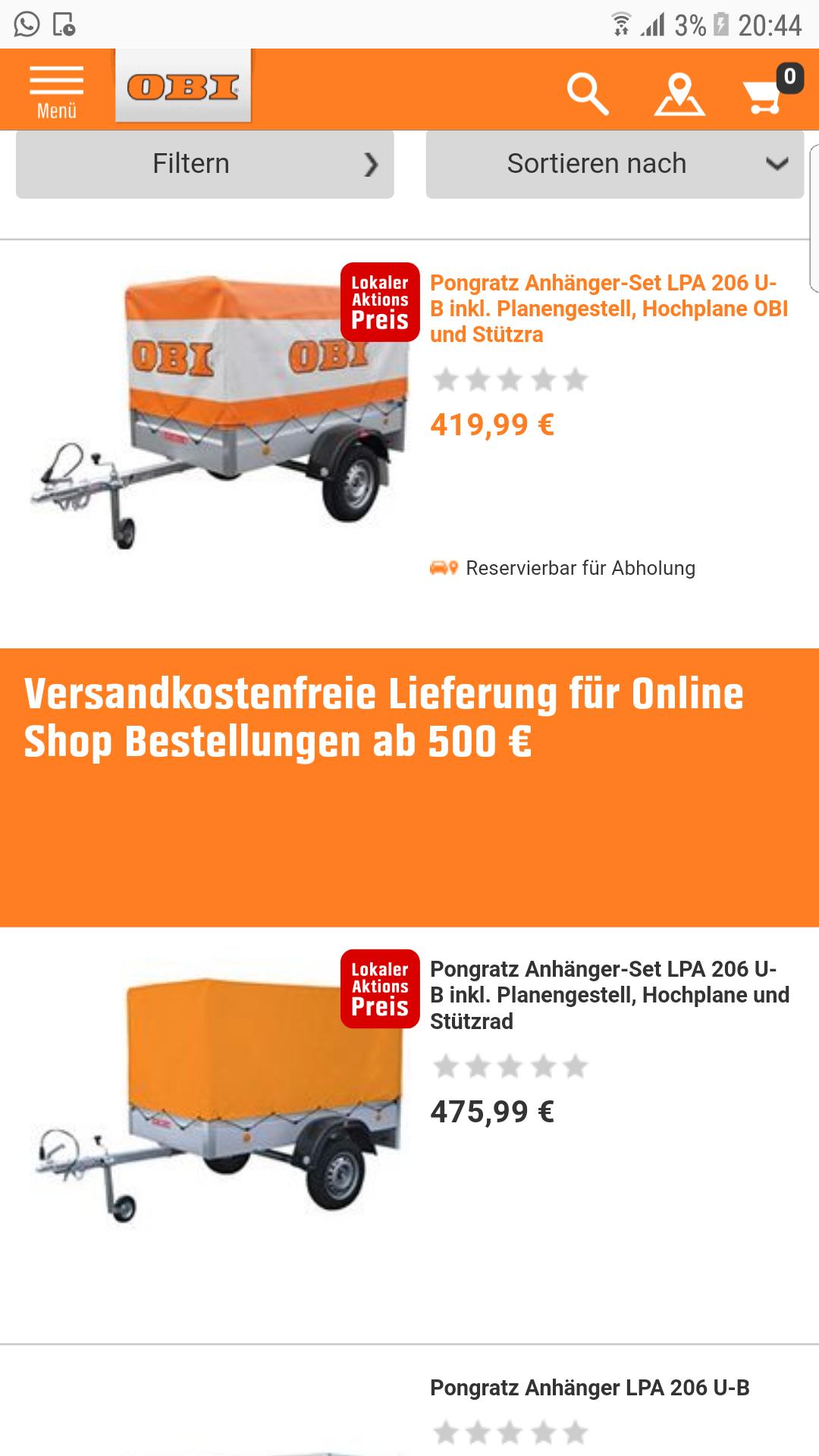 Pongratz LPA U-B SET 419.90€