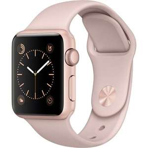 Apple Watch (Series 1, 38mm, rosa) um 233 € - Bestpreis - 27%