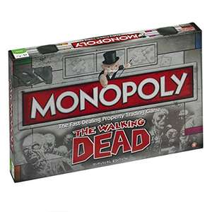 "Monopoly ""Walking Dead"" Edition (englisch!) um 17,50 € - 51%"
