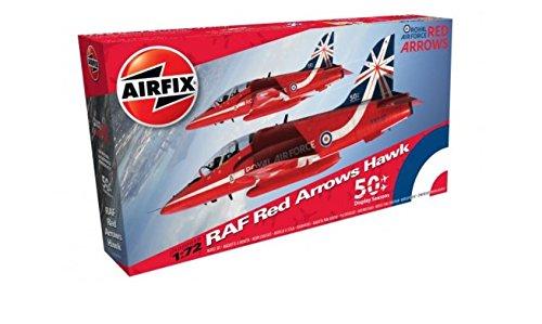 Airfix Arrows Hawk 1: 72 model kit (rot)