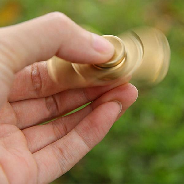 Hand Spinner aus Kupfer (drei Minuten Rotation)