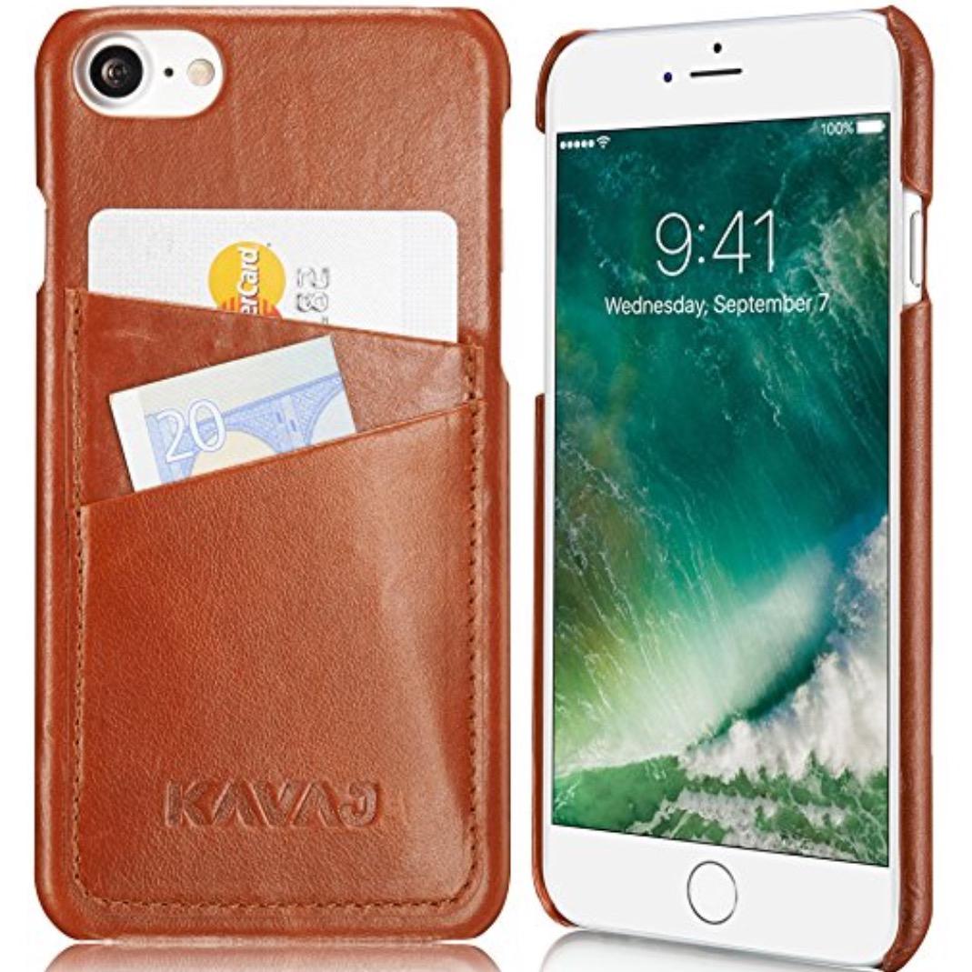 [Amazon] KAVAJ iPhone 7 Lederhülle für 11,16€ (statt 27,80€)