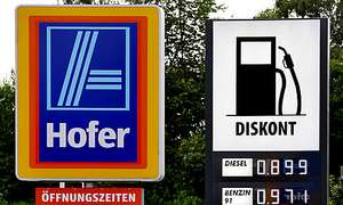 Diesel-Bestpreis bei Hofer Tankstelle Wien 21, Shuttelwordstrasse