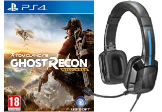 Media Markt: Tom Clancy's: Ghost Recon Wildlands (PS4) + TRITTON Kama Stereo Headset für 44€