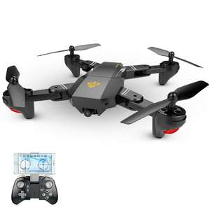 VISUO XS809W Wifi FPV Selfie Drone RC Quadcopter