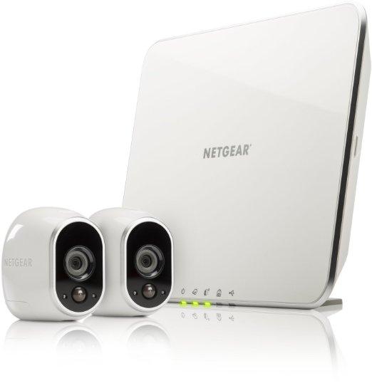 """Netgear Arlo"" Überwachungssystem (2 HD-Cams) um 250 € - 22% sparen"