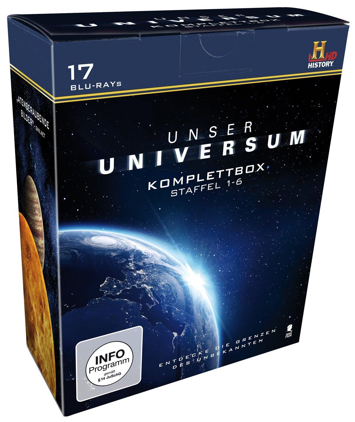 [Amazon.de][PRIME] Unser Universum - Die Komplettbox, Staffel 1-6 (History) [Blu-ray] für 18,97€