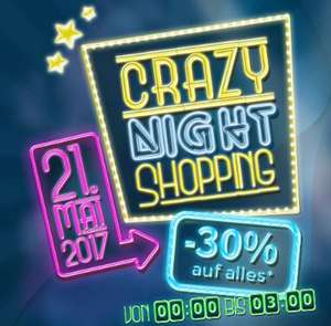 Crazy Night Shopping im Onlineshop von Klipp Frisör!
