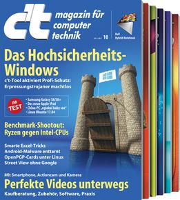 6 C'T Hefte für effektiv 3,40 EUR