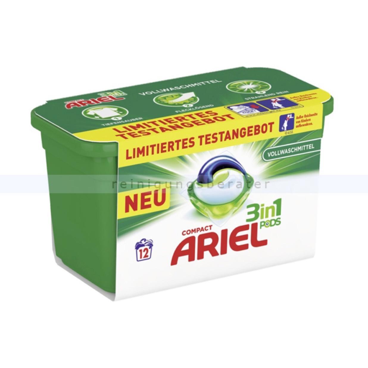 Ariel 3 in 1 pads - Marktguru 0,065€/WG