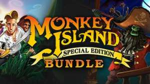 Bundlestars/Steam: Monkey Island Teil 1 & 2 Special Edition für 2,84€