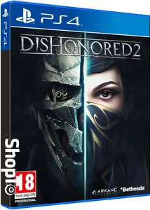 Shopto.net: Dishonored 2 (PS4) für ca. 14,85€