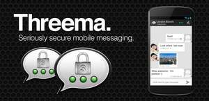 [Android]+[iOS]+[Windows Phone] Threema *Messenger, - 50% für 1,49€ statt 2,99€