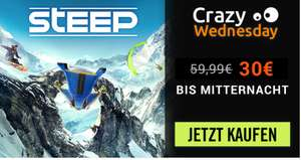 [Ubisoft Store] STEEP ab 29,99€ !
