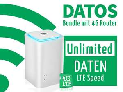 Für Studenten den Huawai E5180 LTE-Cube + DATOS Datentarif