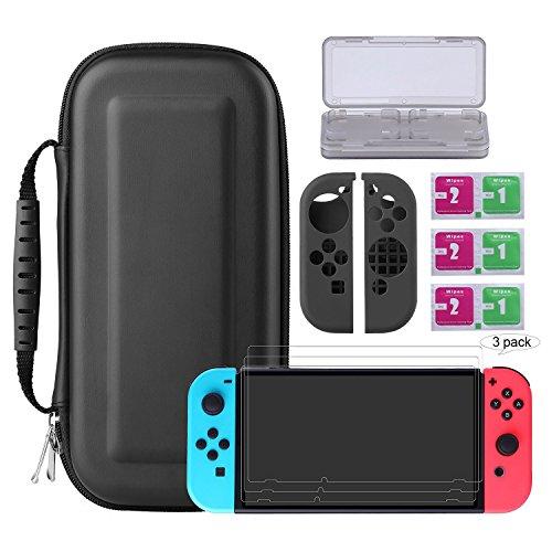 Bestico Nintendo Switch Schutz Kit, 7 in 1 Switch Schutz Zubehörset für nur 13,99 Euro