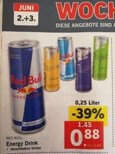[Lidl Super Wochenende] Red Bull inkl. Editions um 88 Cent