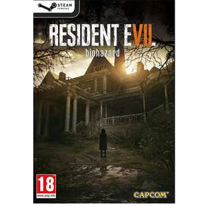 [PlayAsia] Resident Evil 7: Biohazard (Steam) für 16,61€