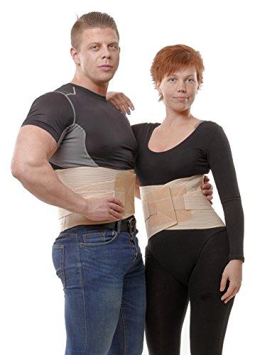 (Top!) Rückenbandage mit Stützfunktion / Orthopädischer Rückenstützgürtel um 5 € - statt 48 €