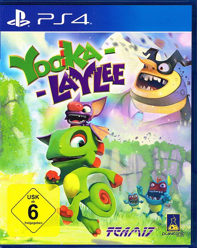 [gameware.at] [PS4/XBone] Yooka Laylee für €29,99 versandkostenfrei