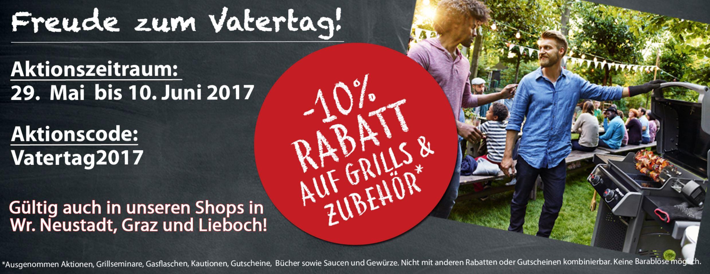 [griller-shop.at] 10% Rabatt auf Grills & Zubehör [Sammelthread Griller]