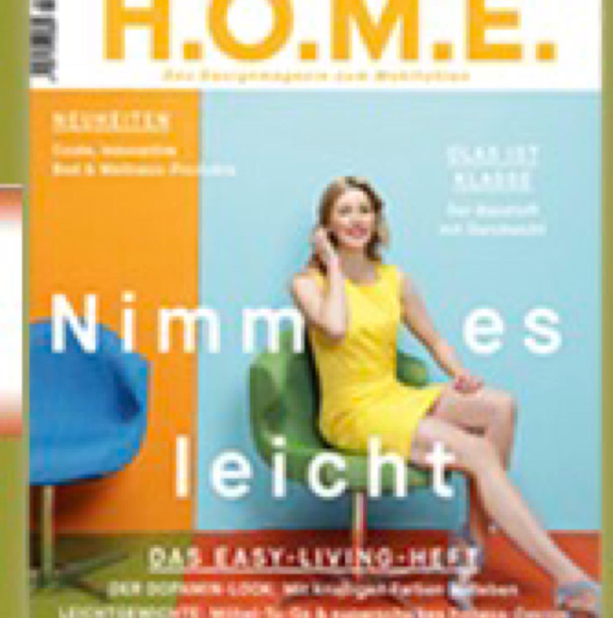 H.O.M.E Magazin 1 Jahr kostenlos - selbstkündigend