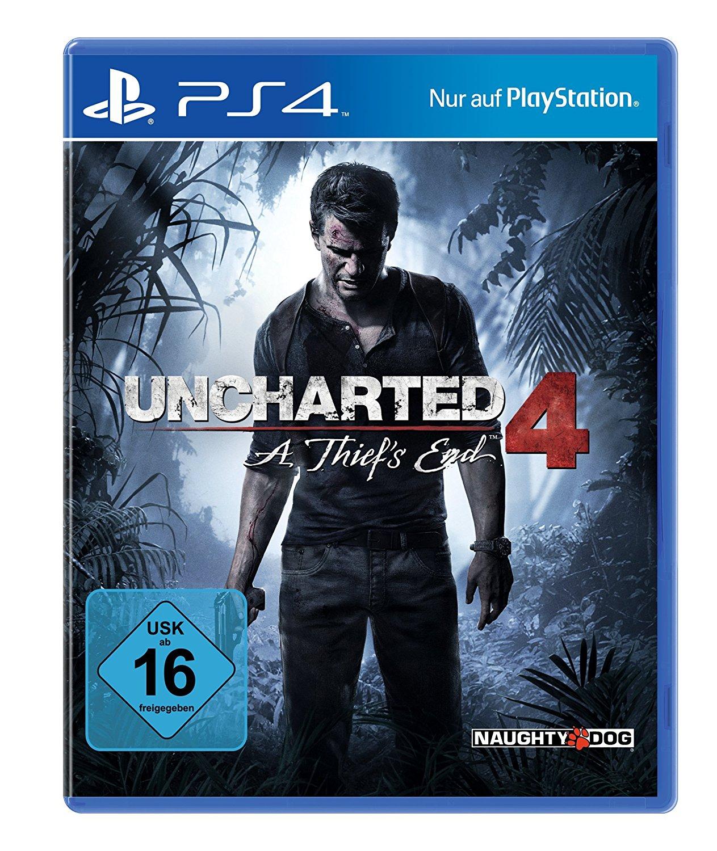 [Amazon.de] [PS4] Uncharted 4 für €17,41 versandkostenfrei mit PRIME