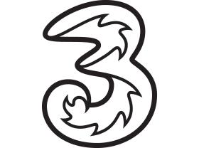 """Drei """"3"""" Sondertarif: unlimitiert Min/SMS + 17 GB Daten um 17 € - bis 28.6.2017"""