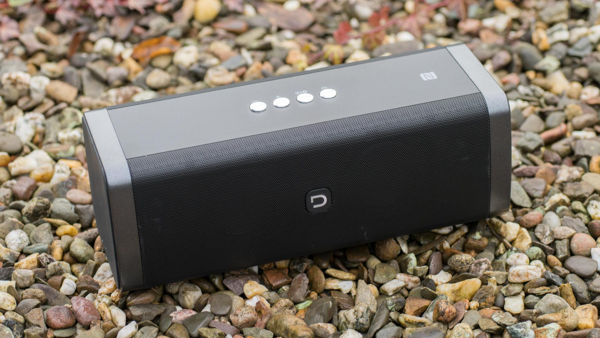 DOCKIN D FINE Stereo 50W Bluetooth Lautsprecher mit Powerbank