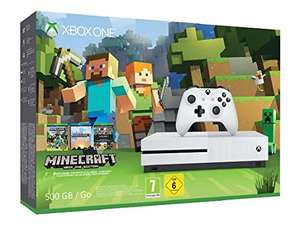 [Amazon.de/mylemon] Xbox One S 500GB Konsole - Minecraft Bundle für 199€
