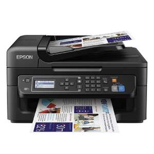 Epson WorkForce WF-2630WF Tintenstrahl-Multifunktionsgerät (WiFi) - statt 68 €