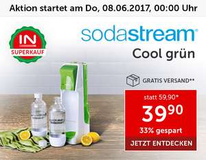 Interspar Superkauf: Sodastream Cool Green