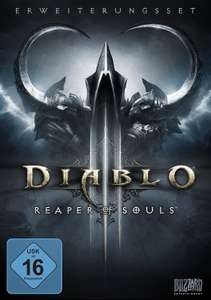 [www.AMAZON.de]  Diablo 3: Reaper of Souls (Add-on) (deutsch) (PC/MAC) für Prime Kunden € 10,07