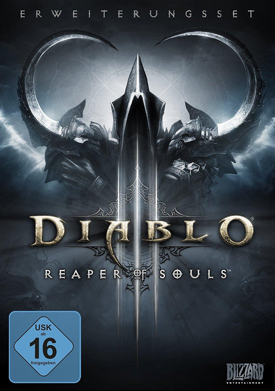 [www.AMAZON.de]  Diablo 3: Reaper of Souls (Add-on) (deutsch) (PC/MAC) für Prime Kunden € 10,07
