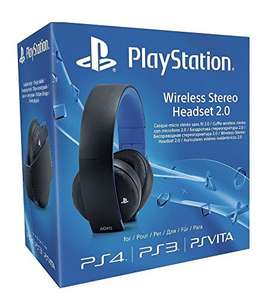 [Amazon] [PS4] PlayStation 4 Wireless Stereo Headset 2.0, schwarz für €55,45