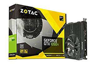 [Amazon] Zotac Geforce GTX 1050 Ti ZT-P10510A-10L Mini Grafikkarte 4GB + Rocket League Steam Key