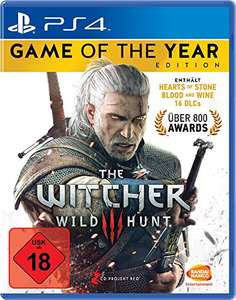 Amazon.de: The Witcher 3: Wild Hunt - Game of the Year Edition (PS4) für 22,97€