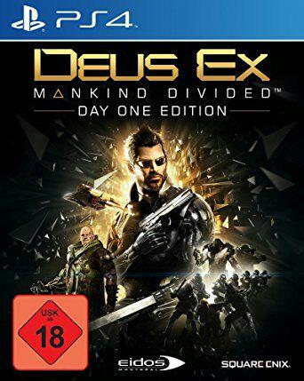 Deus Ex Mankind Divided D1 Edition Xbox und Ps4