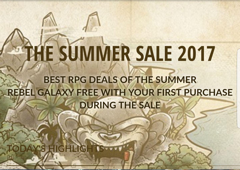 Sommer Sale auf Computerspiele (keys) für den PC