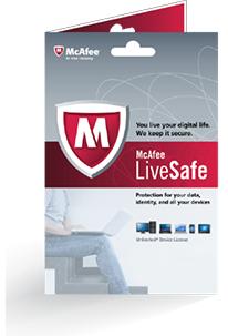 McAfee: LiveSafe 2017, Jahreslizenz gratis statt 19,99€